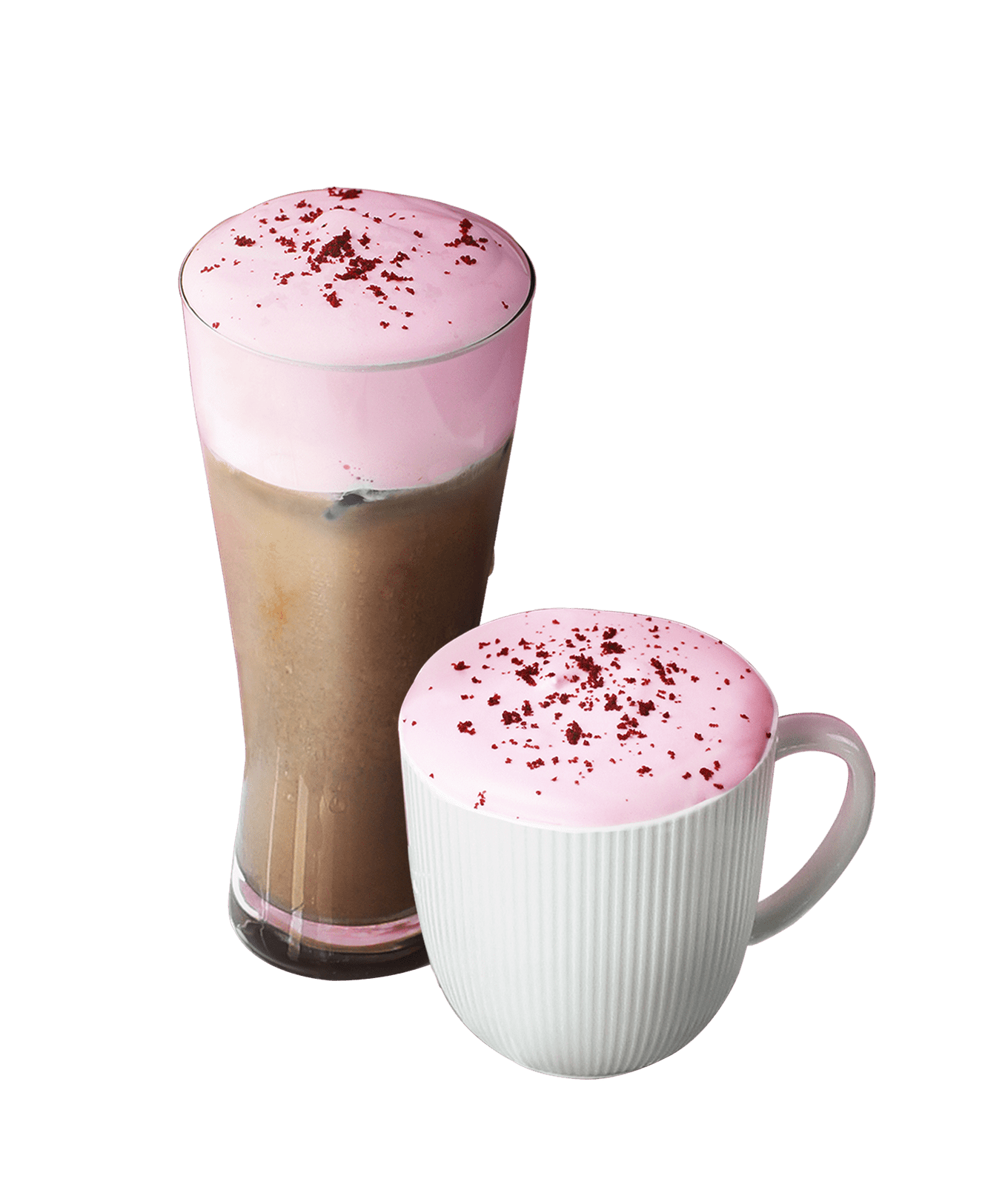 Red Velvet Chocolate Latte