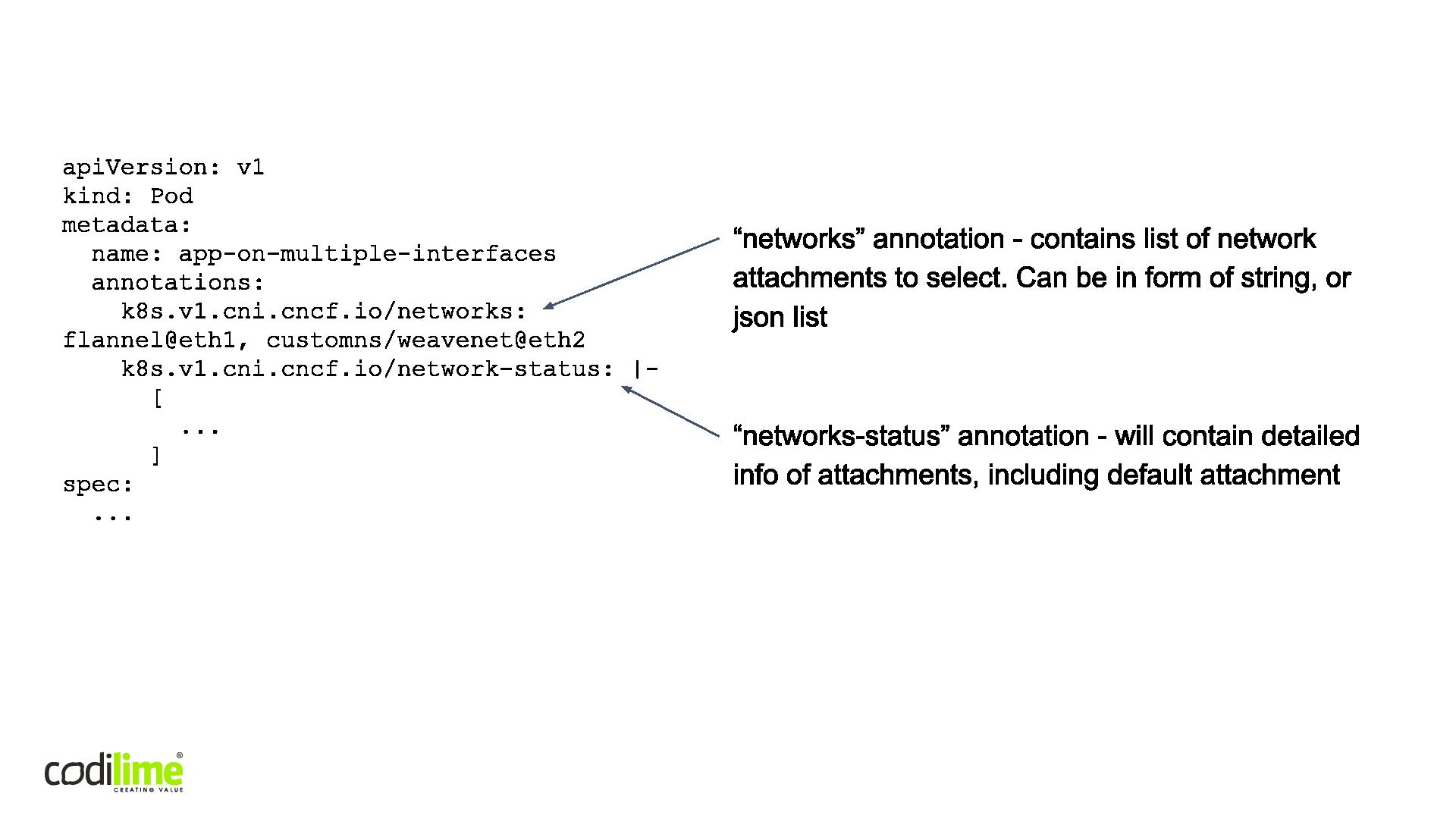 CNI-Genie-NetworkAttachements