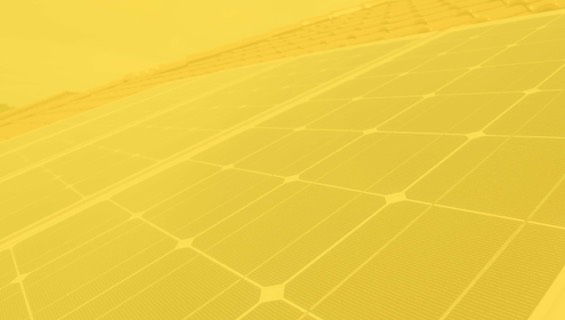 solar panel background yellow hue