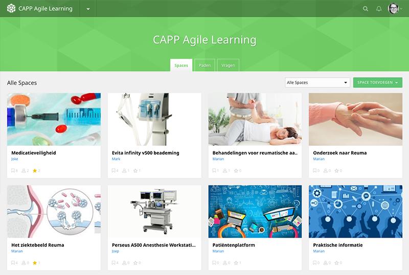 Voorbeeld CAPP Agile Learning in de zorg