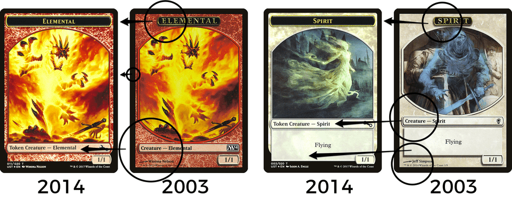photo about Printable Mtg Tokens referred to as How the structure of MTG token card frames contain developed MTG