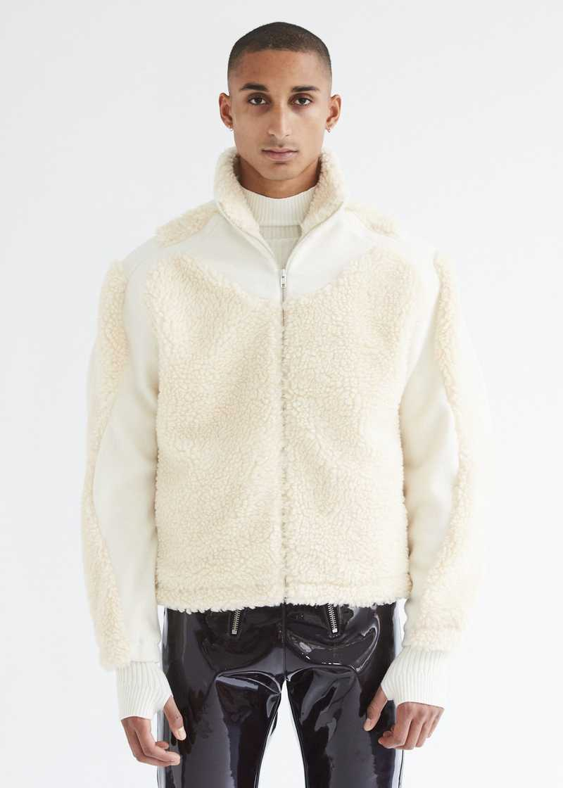 Ercan Jacket Cream front