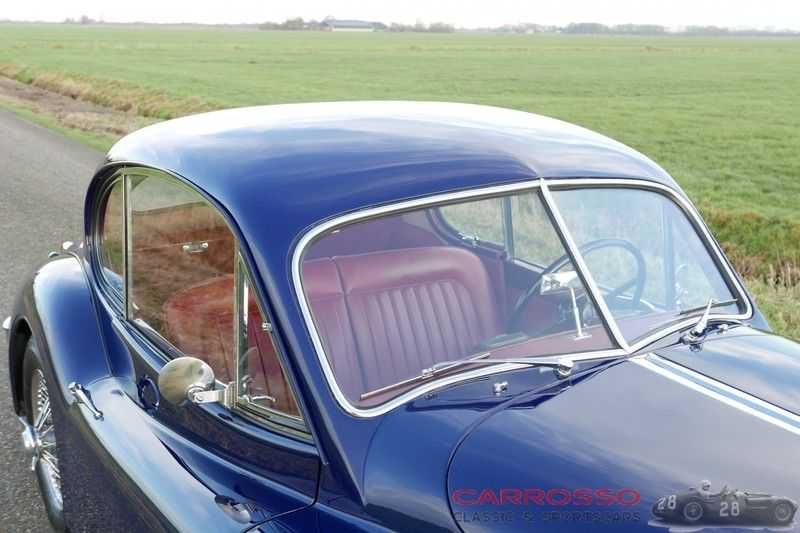 Jaguar XK 140 3.4 SE FHC / Nr. 28 of 8937 ! / Getrag gearbox afbeelding 24