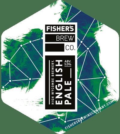 Fisher's English Pale Ale pump clip