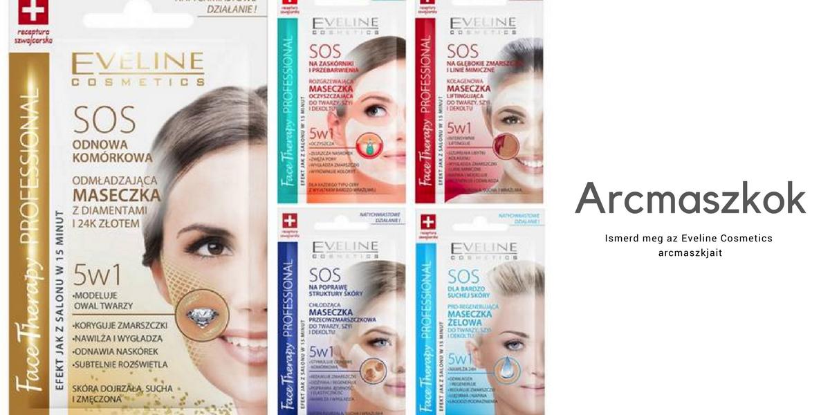 Eveline Cosmetics arcmaszkok