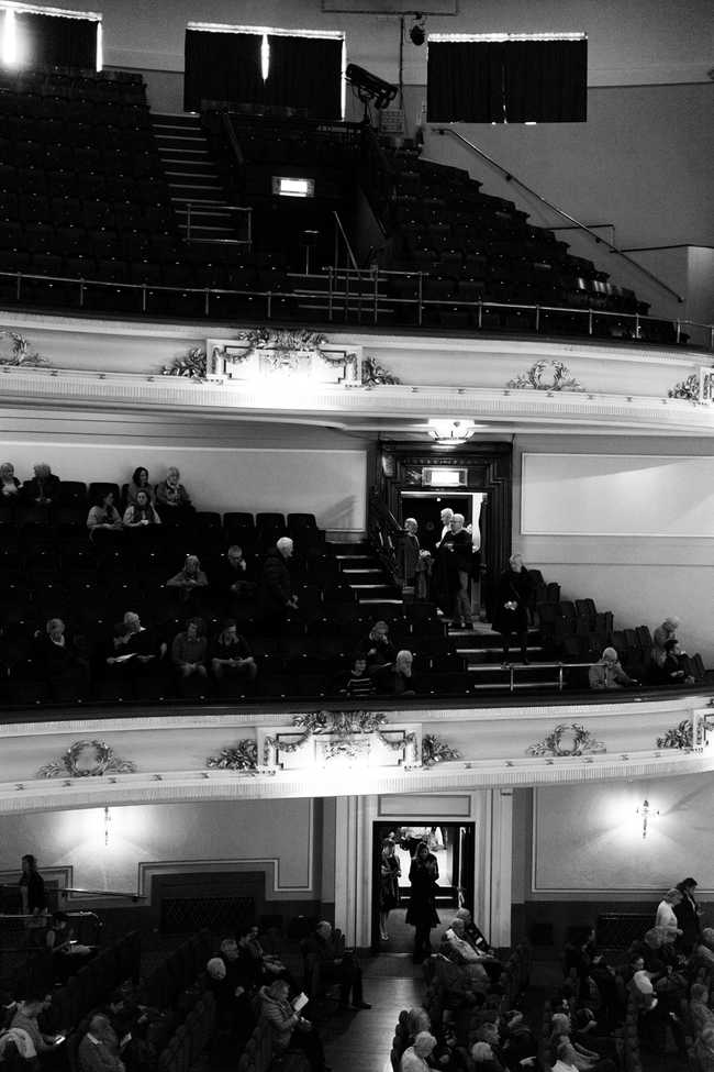 Audience in Usher Hall