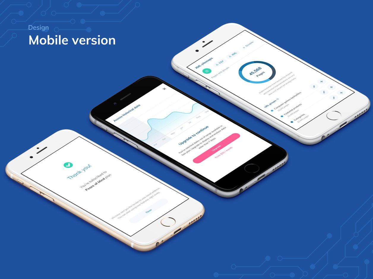 User Flow - UX Design   RankSense