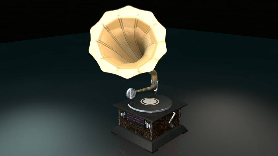 Gramophone - Top-Right