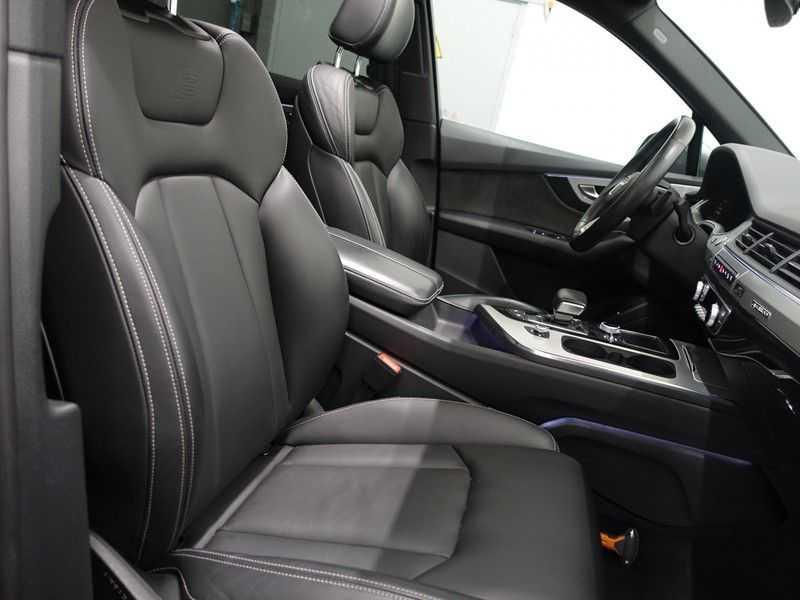 Audi Q7 3.0 TDI e-tron 374pk Quattro S-Line - Pano, Virtual Cockpit, Camera, Leer, Full! afbeelding 2