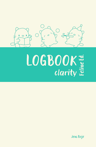mindful journal LOGBOOK clarity cover