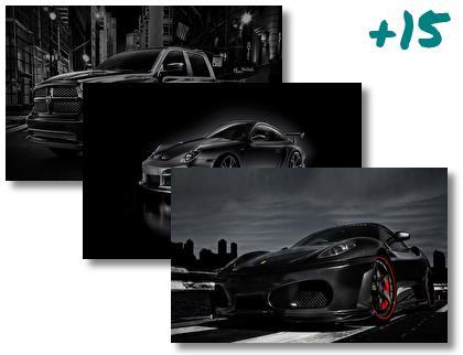 Dark Car theme pack