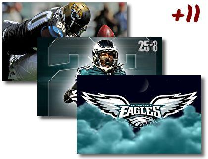 Philadelphia Eagles theme pack