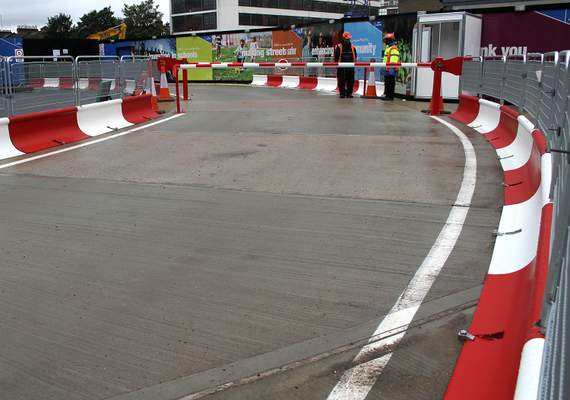 Mass Barriers Around Bend