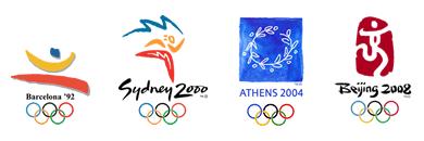 Previous Olympic Logos