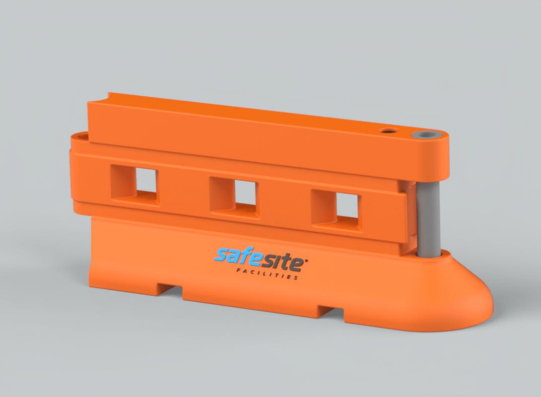 Rhino Standard Barrier in Orange