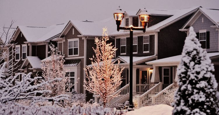 What is a reasonable temperature for a House in Winter?
