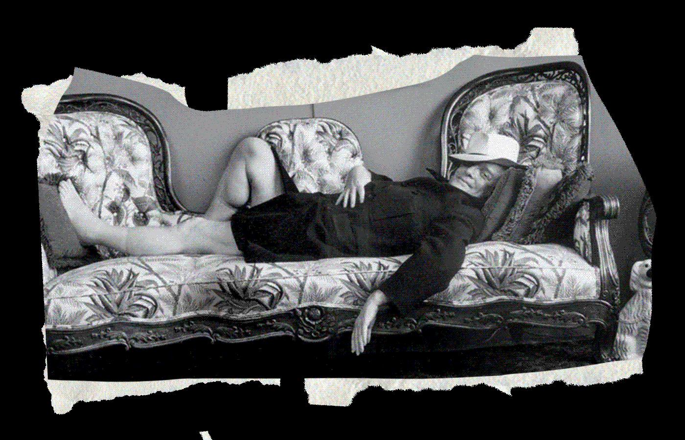 Трумен Капоте. Иллюстрация: Букмейт. Фото: Arnold Newman
