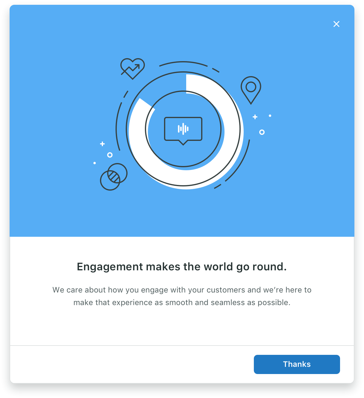 Modal with expressive content