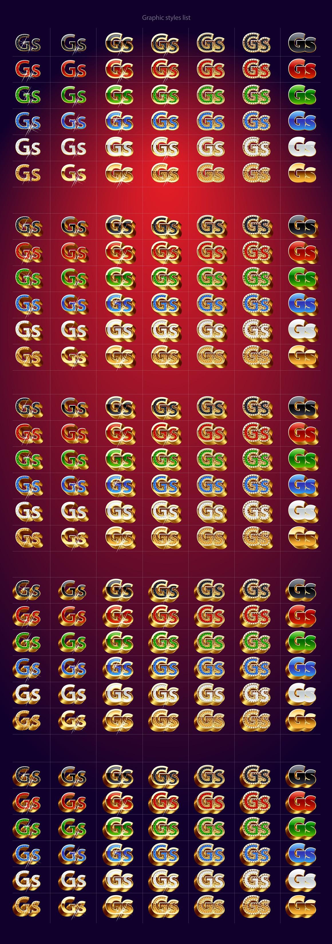 Golden Chic Illustrator Styles images/goldenchic_2_ai_styles_styles.jpg