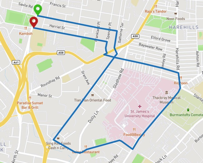 Running Route