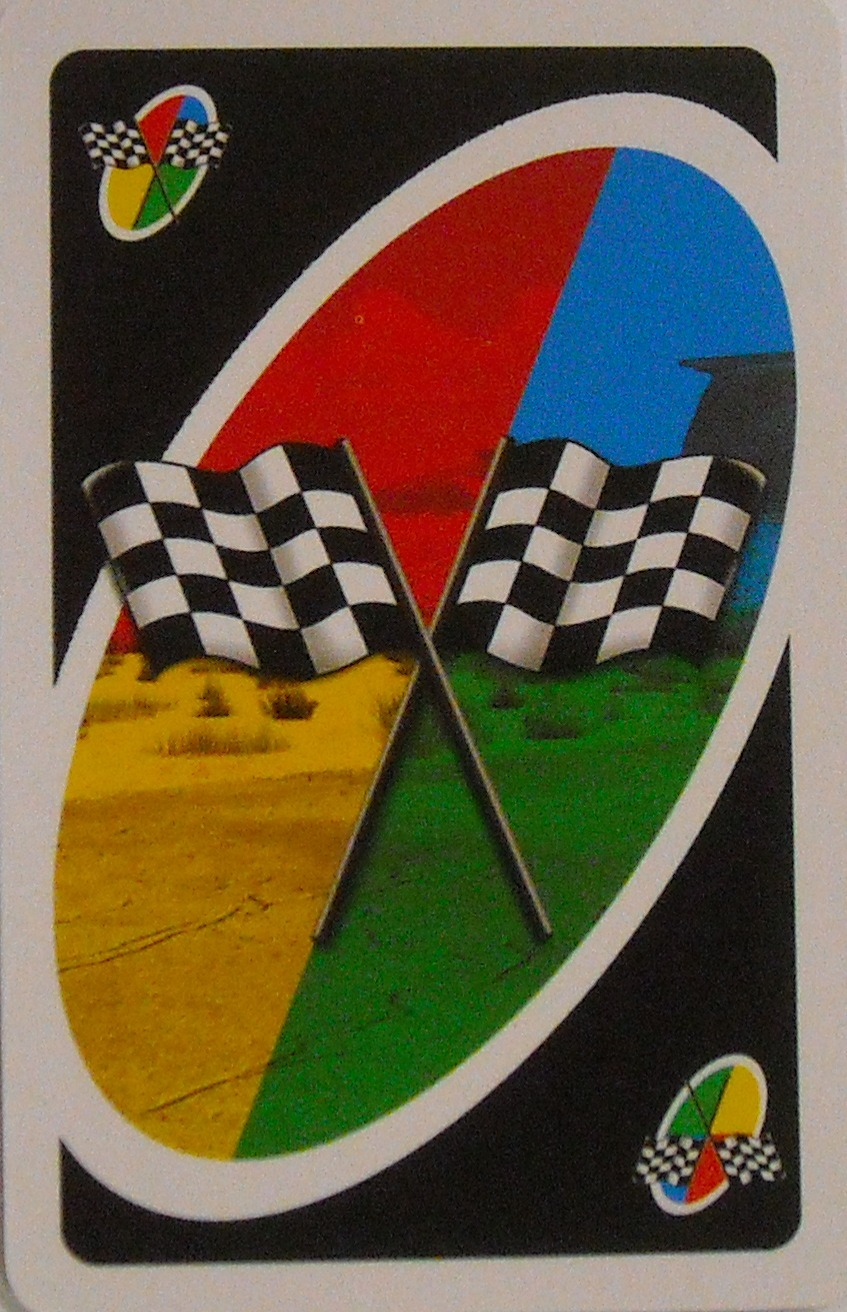 Cars Uno (Victory Lap Card)
