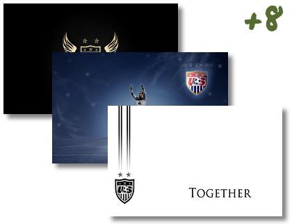 Us Soccer theme pack