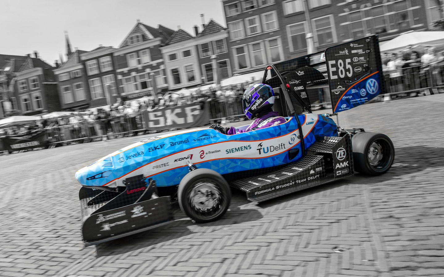 Image of a Formula Student Team Delft racing car