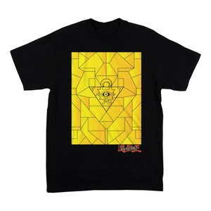 Yu-Gi-Oh Black T-Shirt Boys Graphic Tee Children Youth