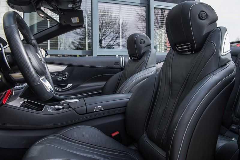 Mercedes-Benz S-Klasse Cabrio 500 , 456 PK, AMG/In/Exterieur, Swarovski, Head/Up, Airscarf, 29DKM, NIEUW!! afbeelding 22