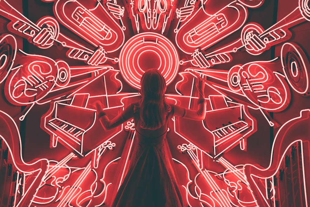 Woman in front of instruments - Photo by Spencer Imbrock on Unsplash
