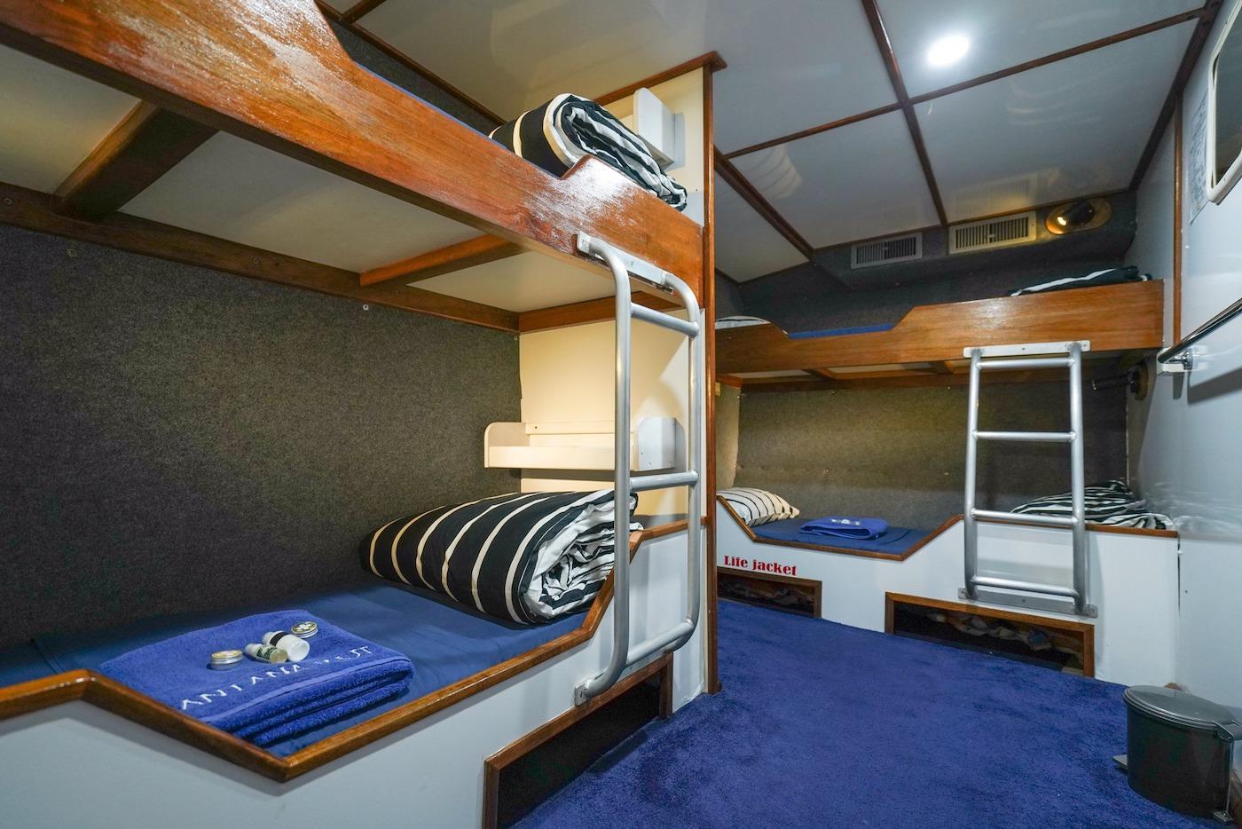 Santana Laut Surf Charter Boat Mentawai Telos Banyak Cabins