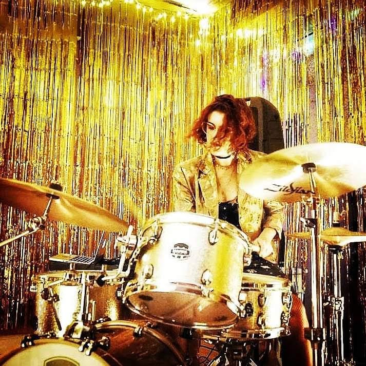 Drums teacher Analiese