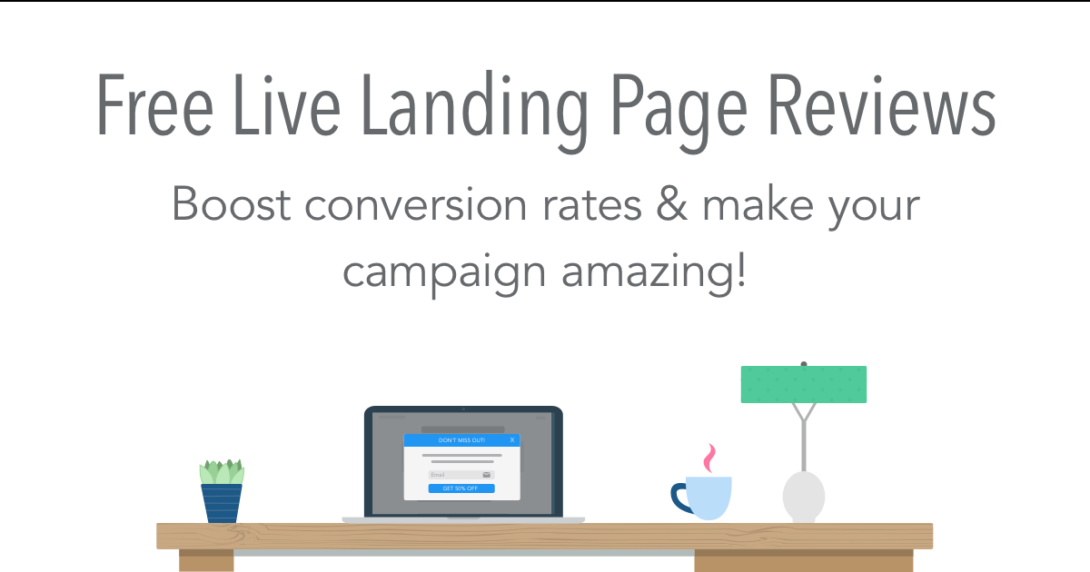 Get your free landing page review