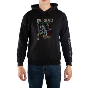 My Hero Academia - One For All - Kanji Text Pullover Hooded Sweatshirt