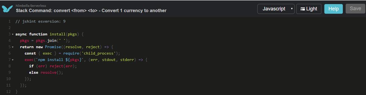 secure code serverless slack app