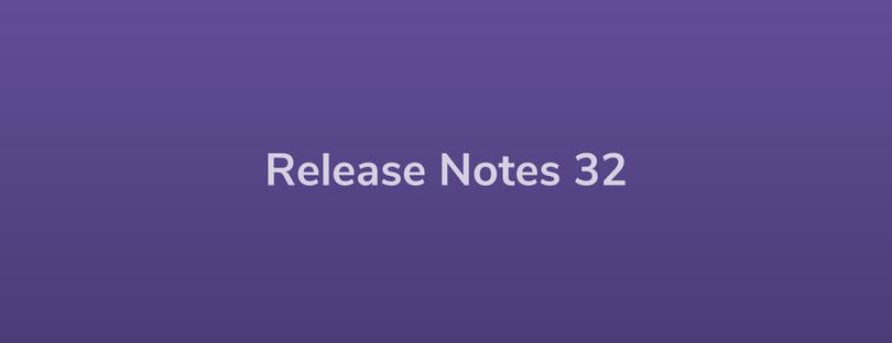 Esper Release Notes – Dev Rel 32
