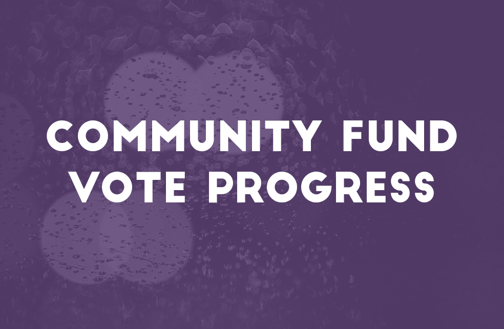Community Fund Vote Progress