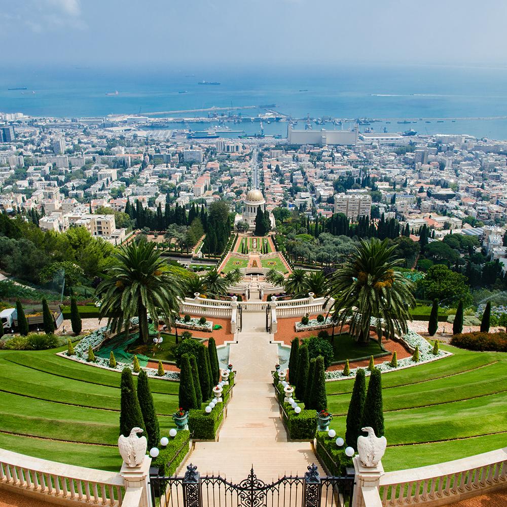 The City of Haifa, Israel