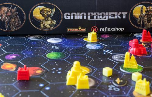 Taktikázás nyílt lapokkal – Gaia Projekt