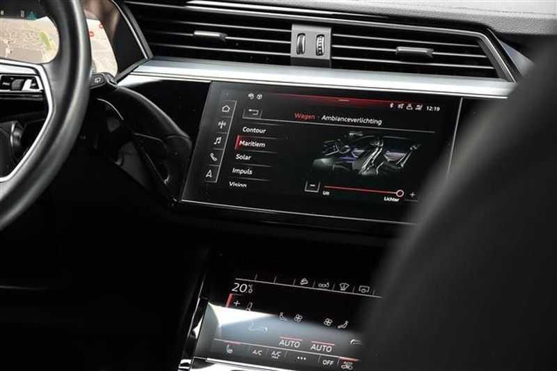 Audi e-tron 55 QUATTRO PANO.DAK+360CAM+HEADUP+B&O afbeelding 19