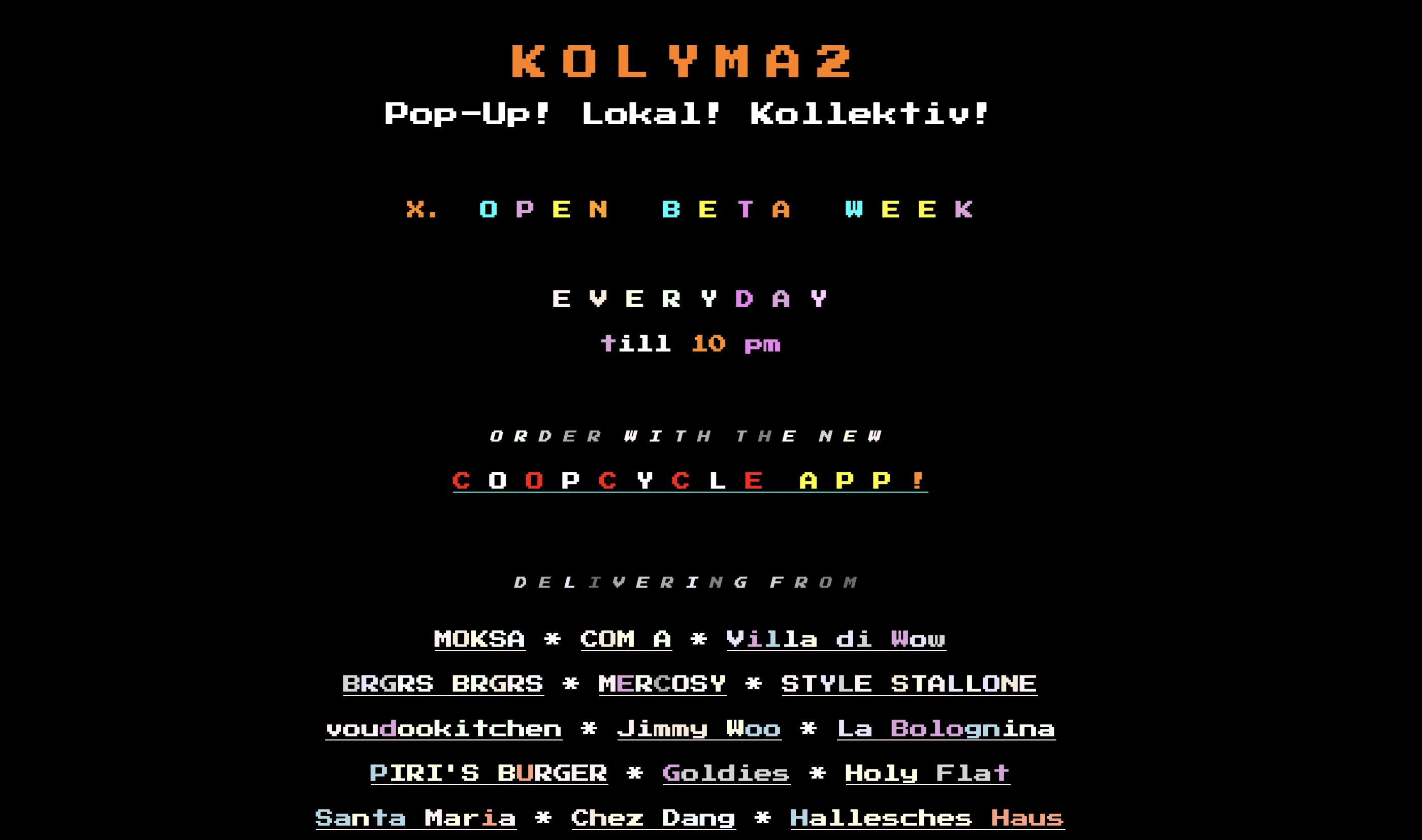 Kolyma2 is a Berlin Cooperative