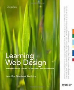 Learning Web Design book cover