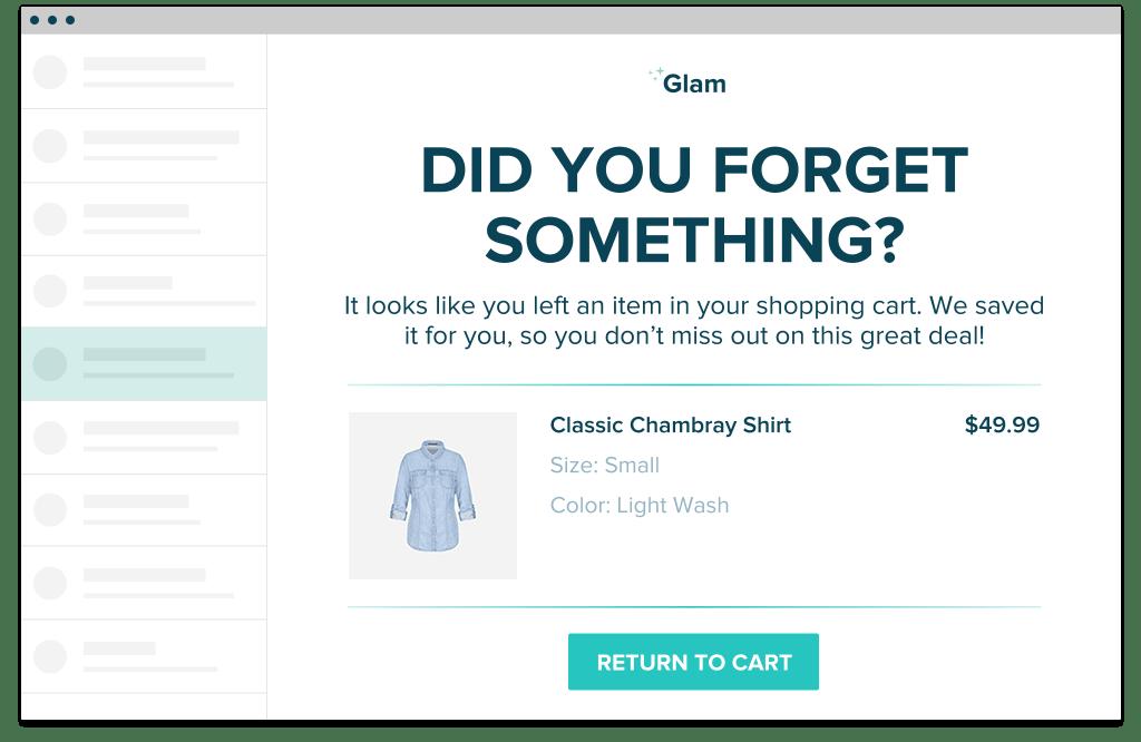 Glam Return to cart
