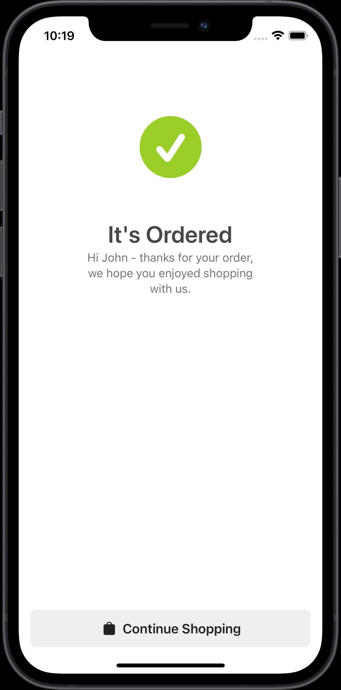 e-commerce, order details