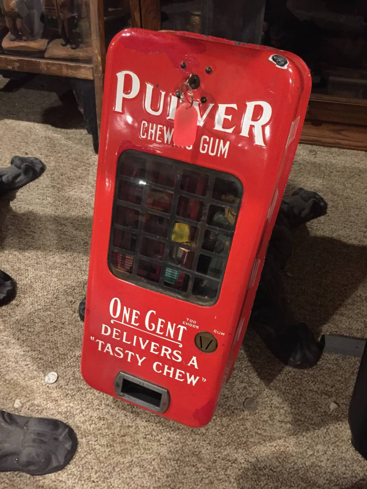 Pulver 1c Gum Vendor