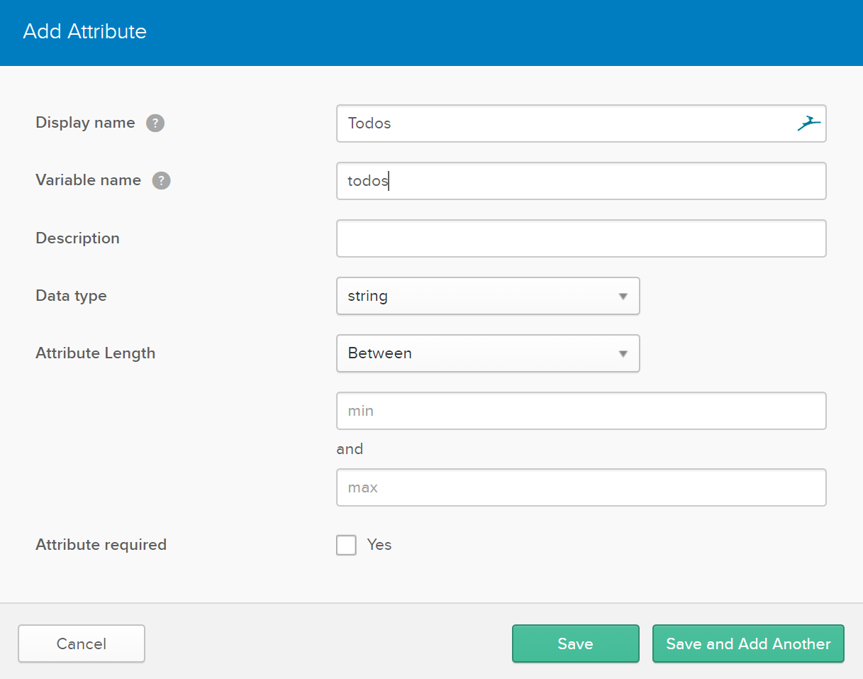 Add custom field in Okta profile