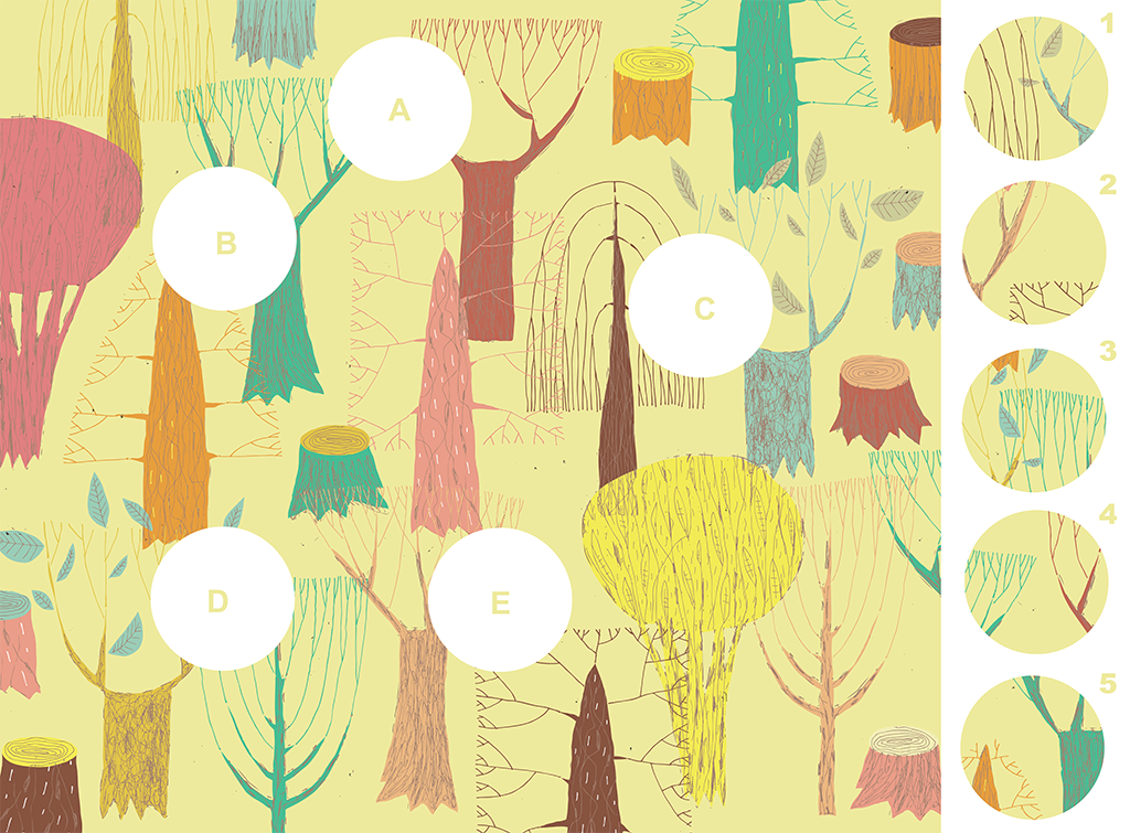 Forest – A Visual Matching Puzzle