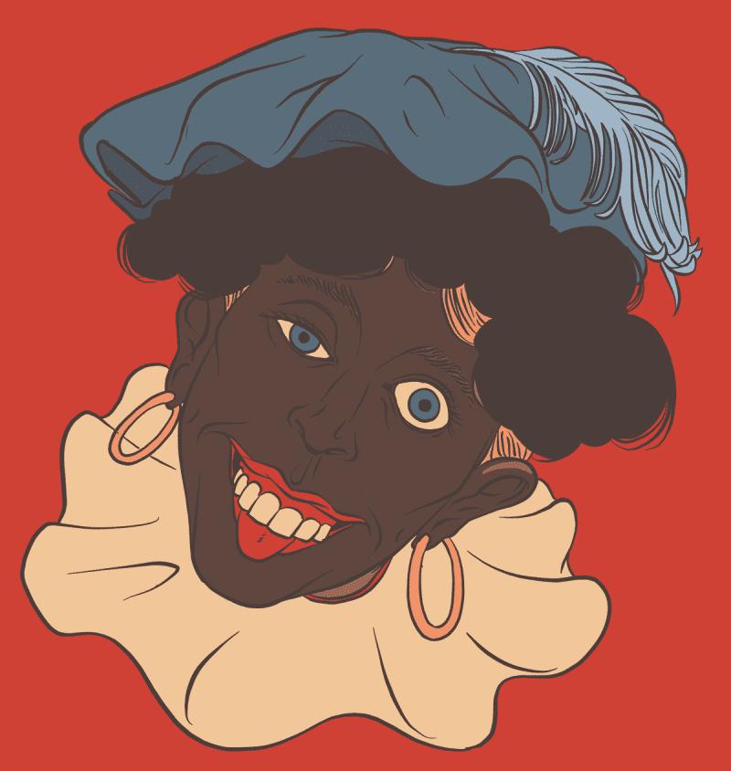 Dutchman in blackface