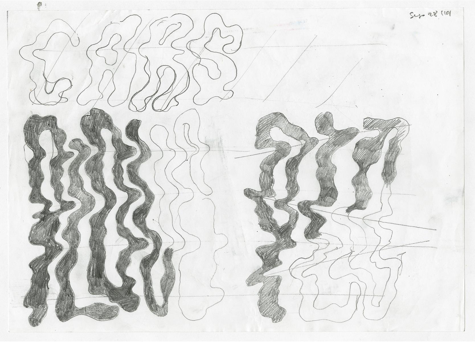 Lettering sketch