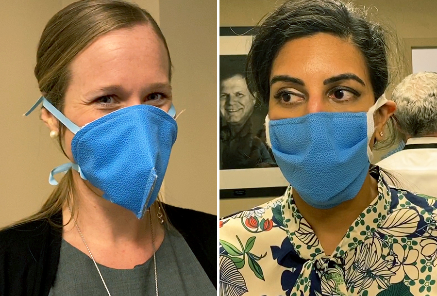 UF Health Surgical Wrap Masks